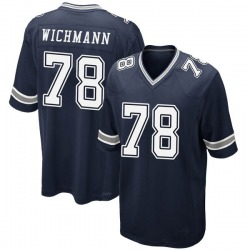Game Youth Cody Wichmann Dallas Cowboys Nike Team Color Jersey - Navy